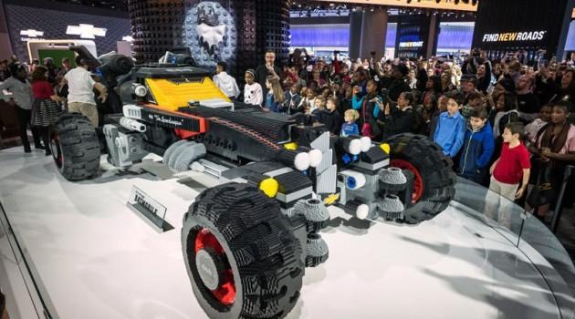 Chevrolet LEGO Movie Batmobile On Display At NAIAS