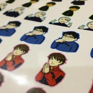 DP_Yuri_on_Ice_stickers
