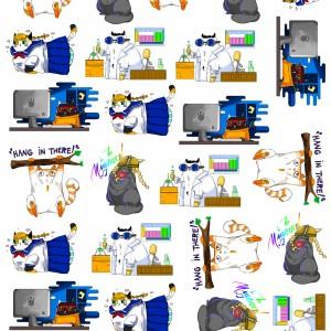 KA_Cat Stickers.