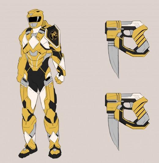 Power Rangers Sentries 01