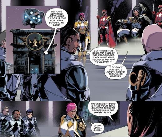 Power Rangers Sentries 03