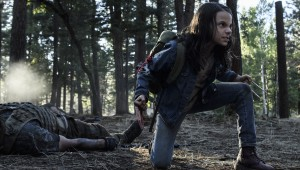 dafne keens stars as laura aka x-23 in LOGAN