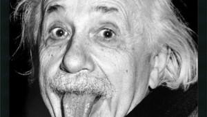einstein-tonguey