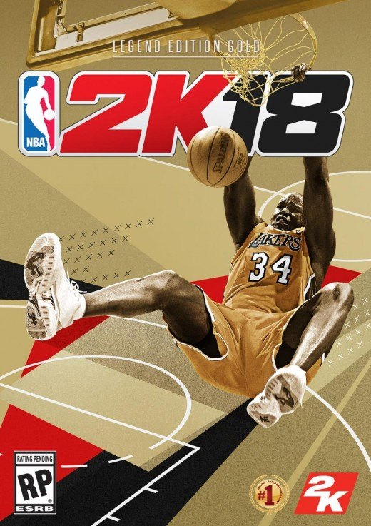 2K18 Legend Edition Gold