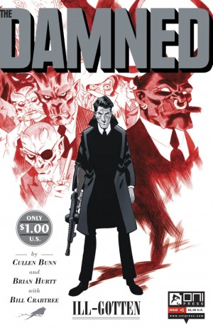 The Damned #1 cover