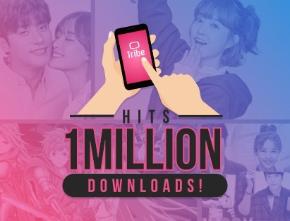 Tribe PH reaches a new milestone, as the app reaches a million downloads - just in time for their first anniversary.