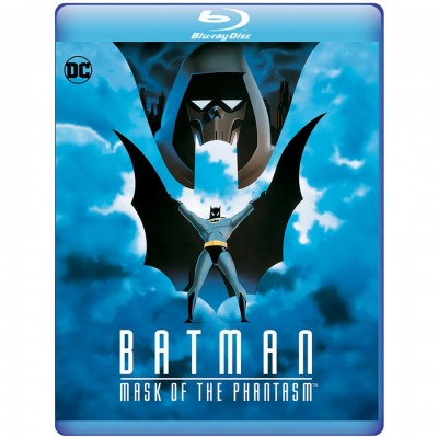"""Batman: Mask of the Phantasm"" by Bruce Timm and Erik Radomski - Official Blu-Ray Cover"