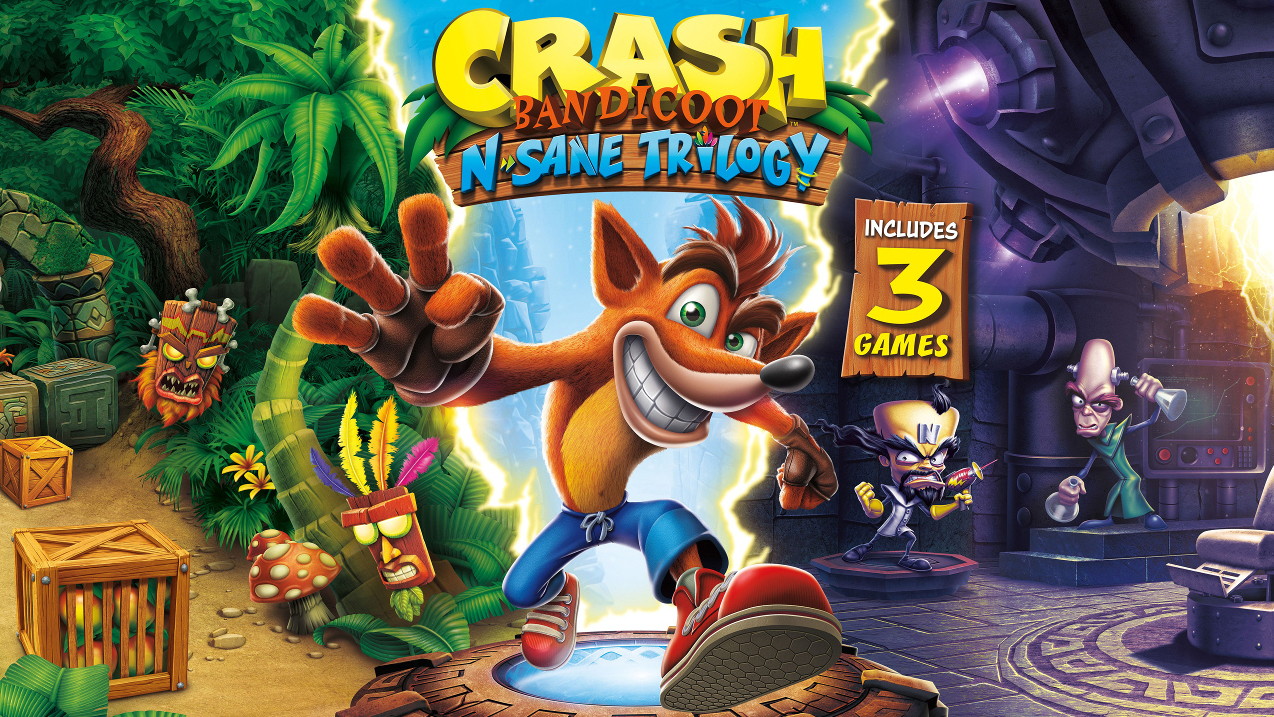 review crash bandicoot n sane trilogy u2014 u0027n tense nostalgia