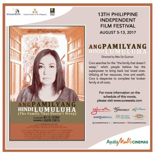 Cinemalaya - Ang Pamilyang Hindi Lumuluha
