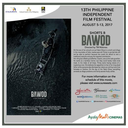 Cinemalaya - Bawod