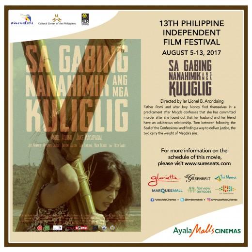 Cinemalaya - Sa Gabing Nanahimik Ang Mga Kuliglig