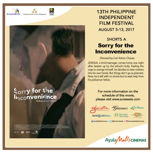 Cinemalaya - Sorry For The Inconvenience