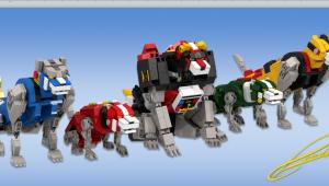 Voltron Lions