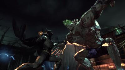 Batman Arkham Asylum Battle
