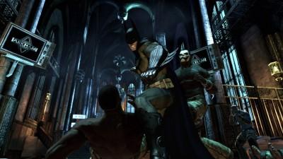 Batman Arkham Asylum Combat