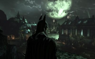 Batman Arkham Asylum Mansion