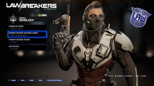 LawBreakers Review (PS4). Bucky
