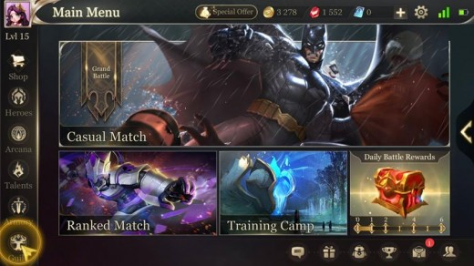 Arena-Of-Valor-Menu