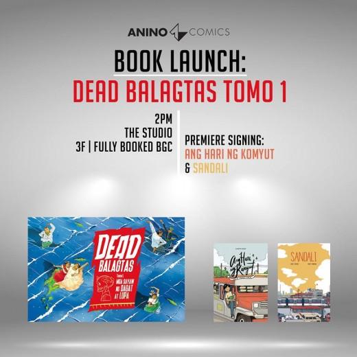 Dead Balagtas Book Launch Anino Comics