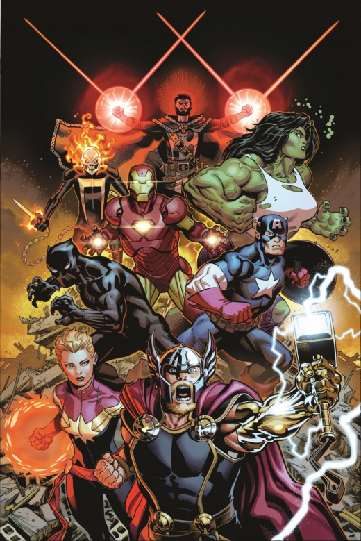 Avengers (2018) 1 Cov