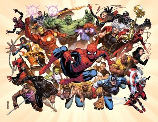 Marvel Comics A Fresh Start