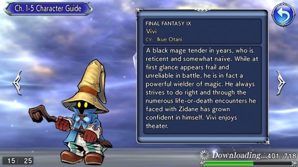 DFFOO Character Guide Vivi
