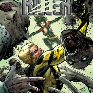 HUNT FOR WOLVERINE: CLAWS OF A KILLER (#1-4) Written by MARIKO TAMAKI Art by BUTCH GUICE Cover by GREG LAND On Sale 5/16/18