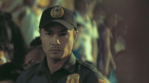 Derek Ramsay figures as one of the police leads in Amo.