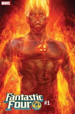 Artgerm Fantastic Four 1 Cover 1