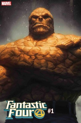 Artgerm Fantastic Four 1 Cover
