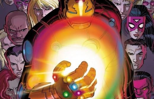 Iron Man Infinity Gauntlet 1