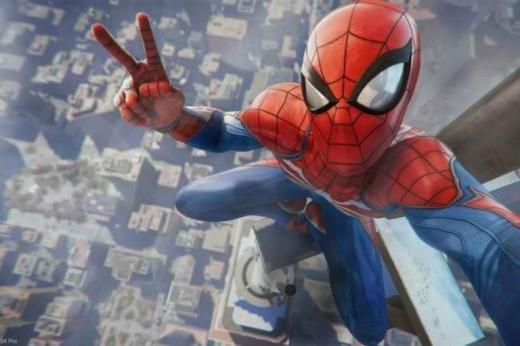 Spider-Man-Game-PS4-FlipGeeks-Selfie