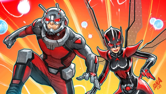 AntMan and The Wasp 01 2018