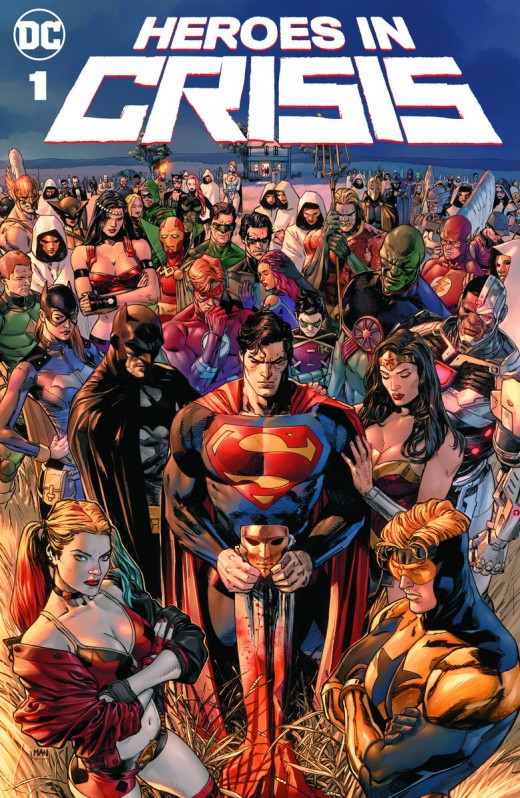 DC Heroes in Crisis