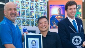 DC Comics Guiness World Record 2018 feat