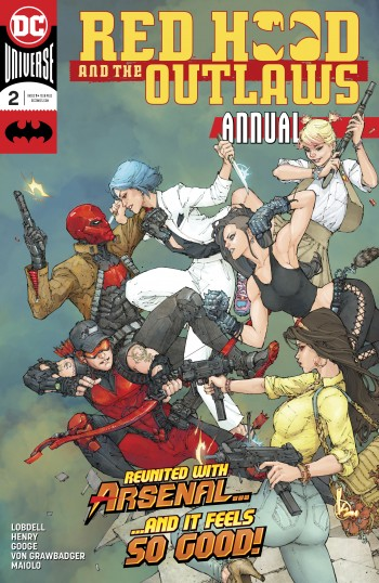Red Hood and the Outlaws Annual 02 2018