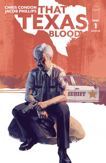 That Texas Blood #1 Cover