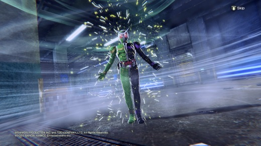 The game primarily revolves around the POV of Shotaro Hidari and Philip, also known as Kamen Rider Double.